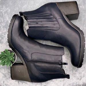 "Mia Women's Ankle Boots size 8.5 Black 3"" heel"